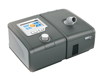 Colorful LCD screen Bipap ventilator for obstructive sleep apnea treatment