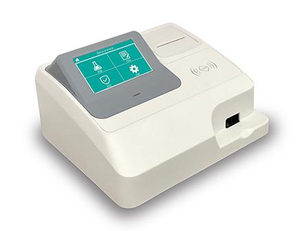 Fully Automated Chemistry Analyzer POCT Fluorescence Immunoassay Rapid Quantitative Test
