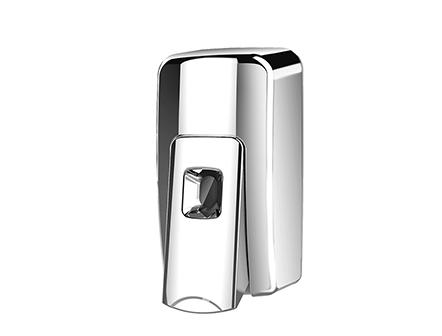 600ml Black Manual Soap Dispenser Wall Mounted