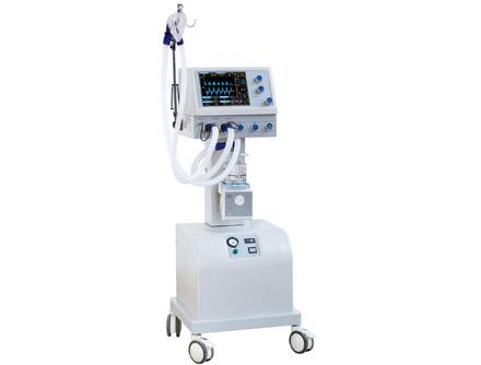 CNME-700BII Medical Trolley Ventilator with Air-compressor