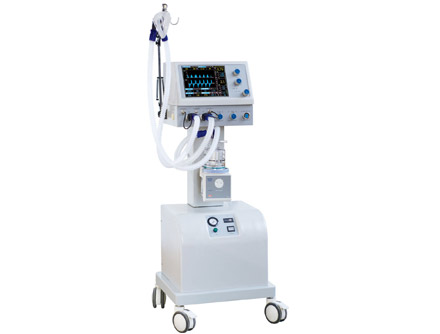 CNME-700BII Medical Trolley Ventilator with Air-compressor