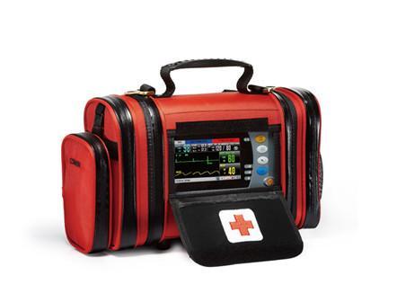 Distinctive emergency transport monitor