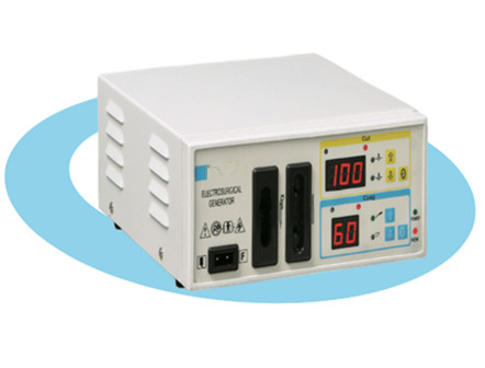High Frequency Electrosurgical Generator with 4 Working Modes
