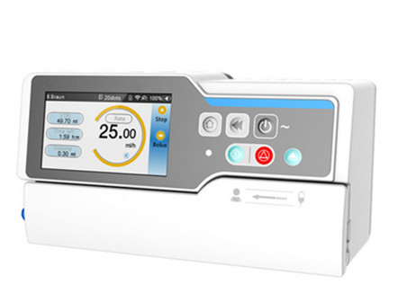Smart Infusion Pump with 4.3 Inch Color Touch Screen