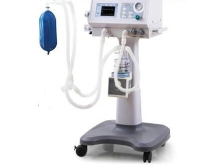 7 inch pressure trigger ICU Ventilator
