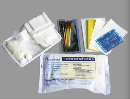 Hospital Disposable Nursing Kit for Dialysis