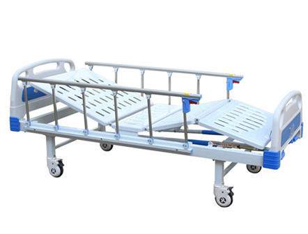 Hospital Manual Double Crank Bed