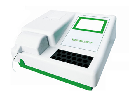 Color Touch Screen Semi-Automatic Chemistry Analyzer