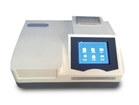 LCD monitor 8-Channel optical system Microplate Reader