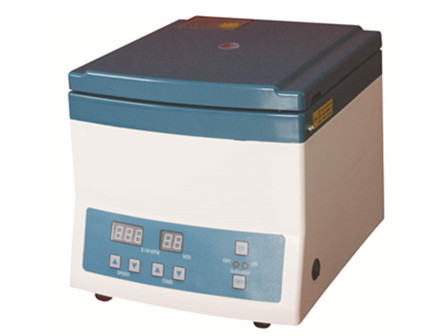 Desktop high speed centrifuge
