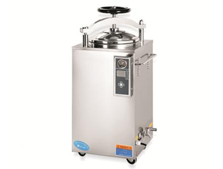 Handwheel steam sterilizer machine
