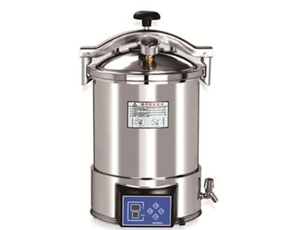 automatic microcomputer portable type pressure steam sterilizer