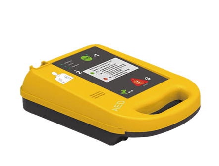 Portable Automated External AED Defibrillator Machine