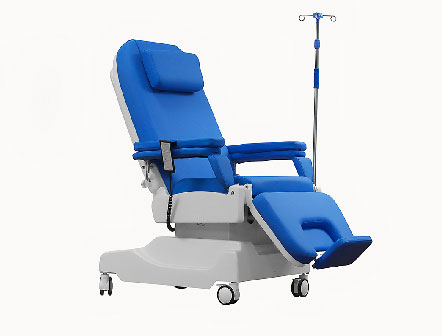 Hospital electronic dialysis chair for sale