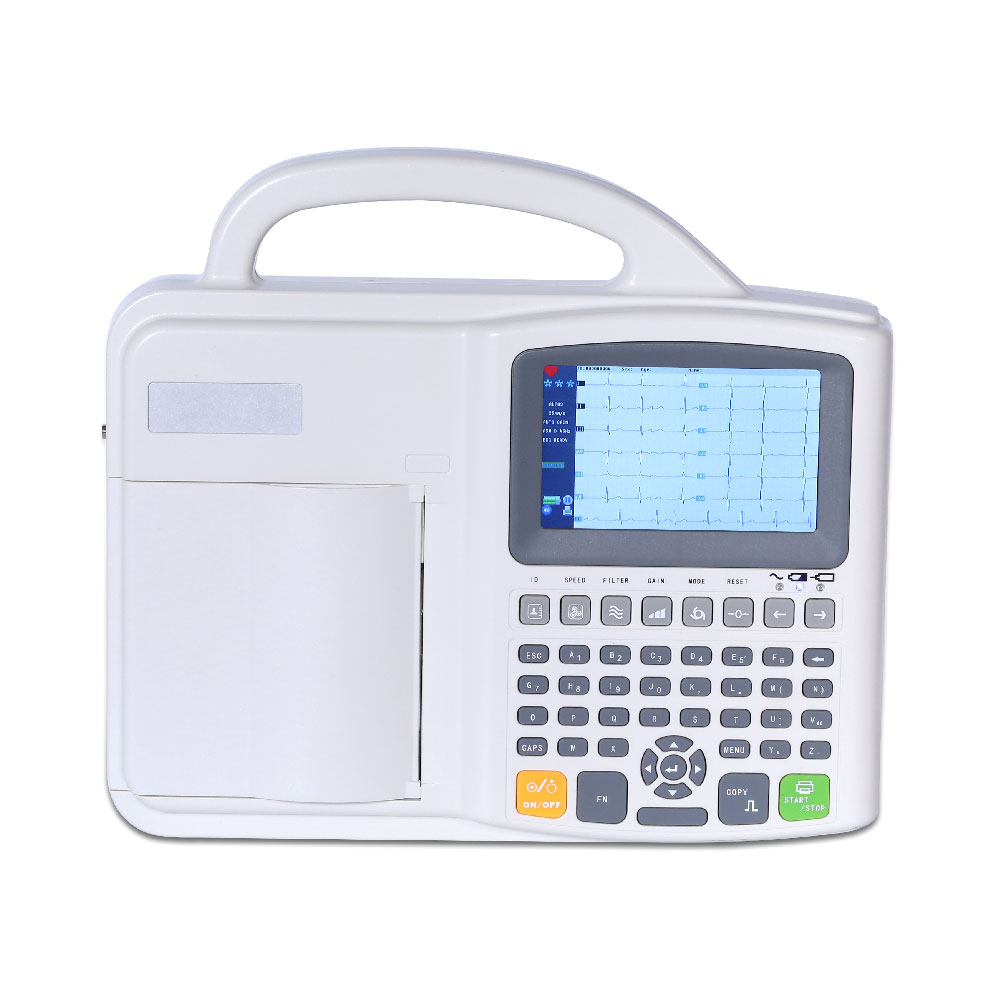 Cheap Hospital 3 Channel ECG Machine